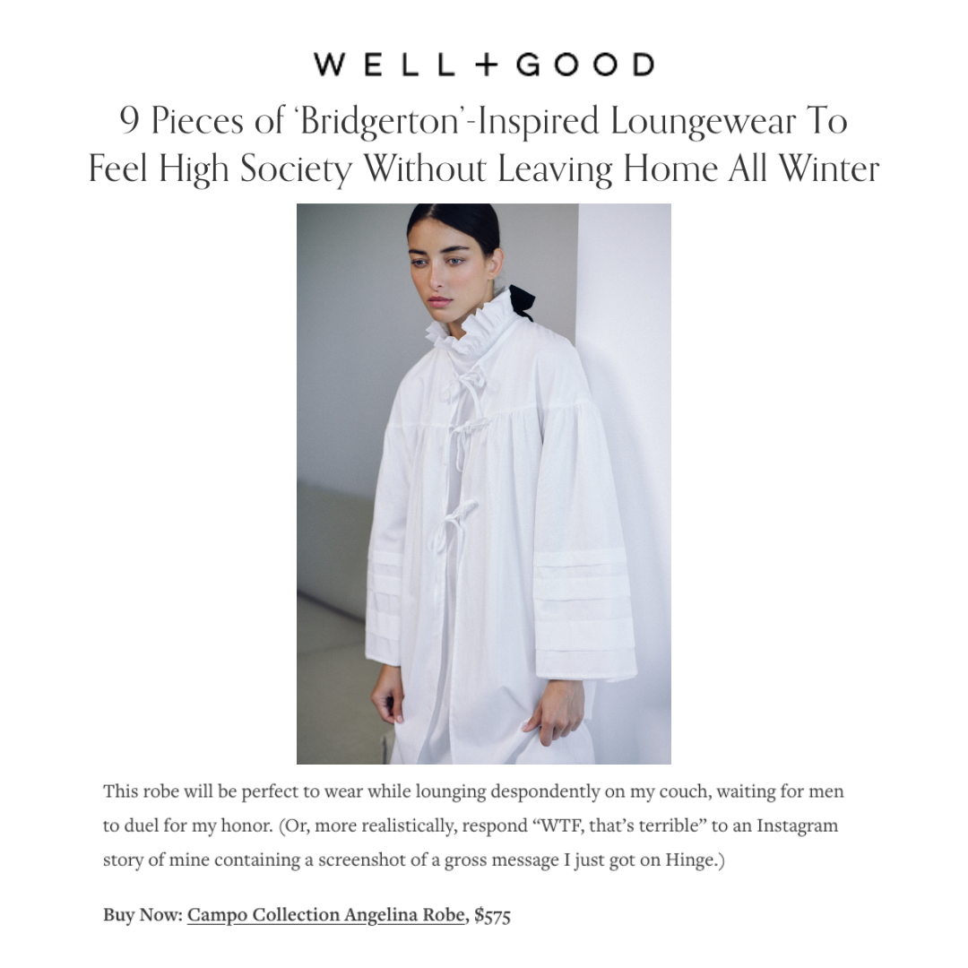 Well + Good Campo Collection nightgown