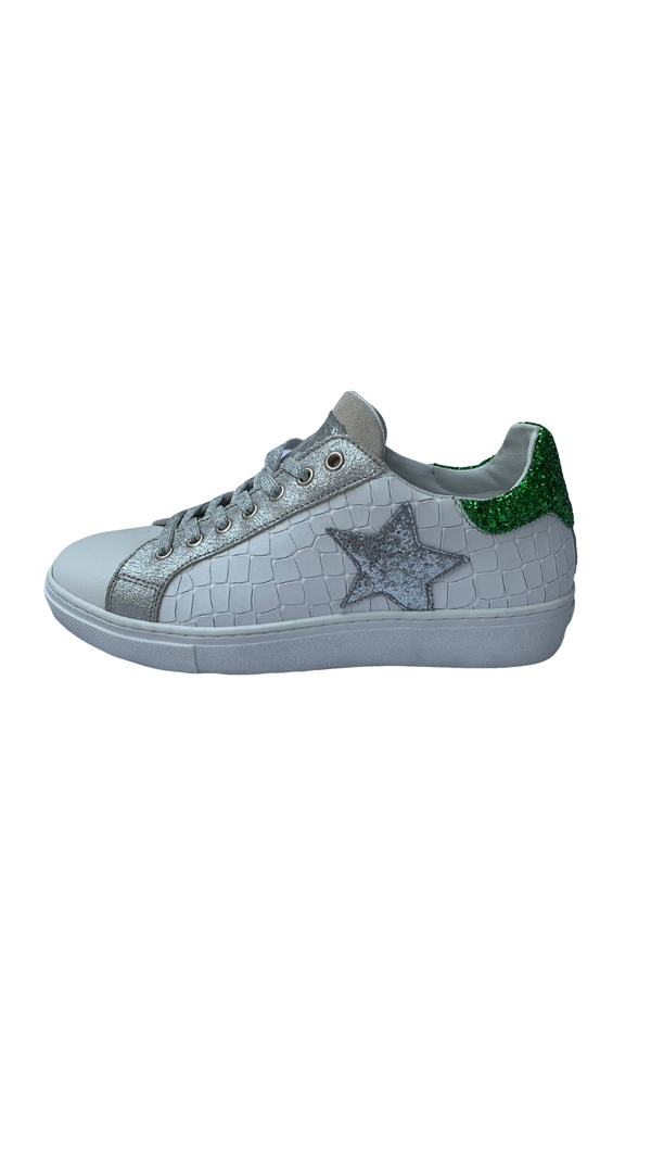 Requins 07507 WHITE/GREEN/STAR