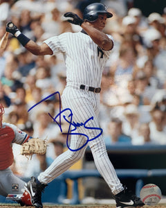 "Darryl Strawberry Autographed 8"" x 10"" - Yankees"