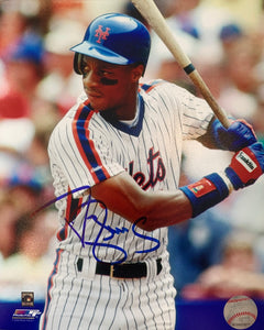 "Darryl Strawberry Autographed 8"" x 10"" - Hitting"