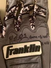 Load image into Gallery viewer, Matt Duffy Game Autographed Used Batting Gloves (Pair)