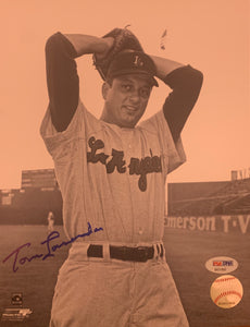 "Tommy Lasorda Autographed 8"" x 10"" Photo"