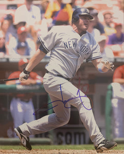 "Jason Giambi Autographed 8"" x 10"" Photo"
