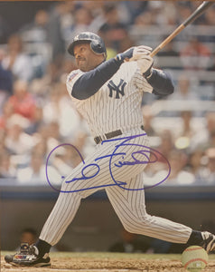 "Cecil Fielder Autographed 8"" x 10"" Photo"
