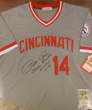 Load image into Gallery viewer, Pete Rose Autographed Custom on Field Style Jersey