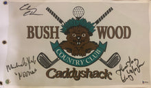 Load image into Gallery viewer, Caddyshack Autographed Golf Flag