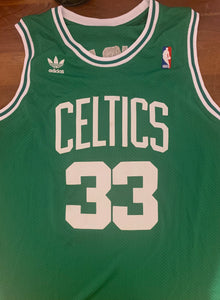 Larry Bird Autographed Custom on Court Style Jersey
