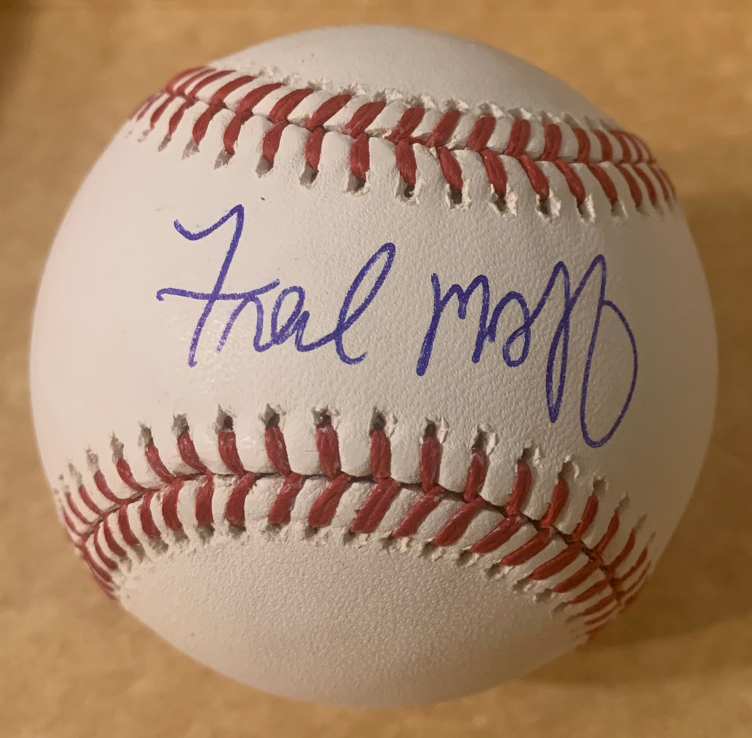 Fred McGriff Autographed ROMLB