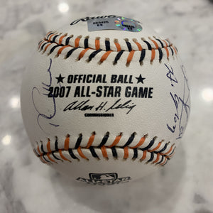 2007 Signed All-Star Game Ball