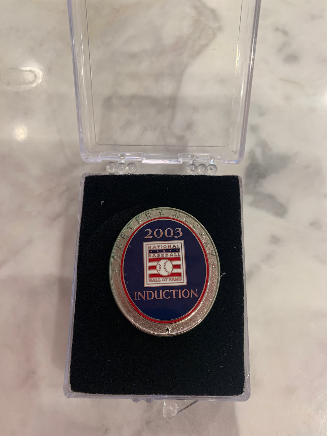 2003 Hall of Fame Induction Pin