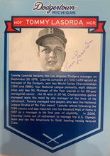Load image into Gallery viewer, Tommy Lasorda Autographed Dodgertown Card