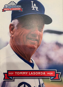 Tommy Lasorda Autographed Dodgertown Card