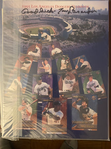 Tommy Lasorda Signed Yearbook