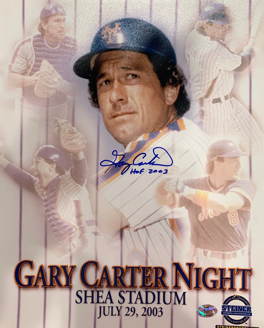 Gary Carter Autographed