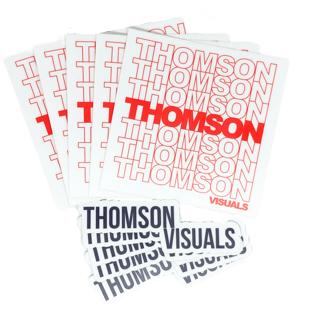 Thomson Visuals Sticker Pack