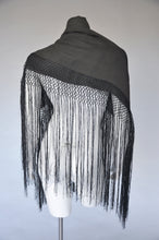 Load image into Gallery viewer, edwardian 1920s shawl