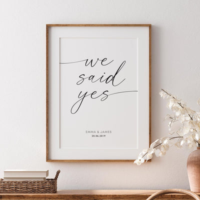 Custom We Said Yes - ᐅ Roses On The Moon - Digital Art and Posters