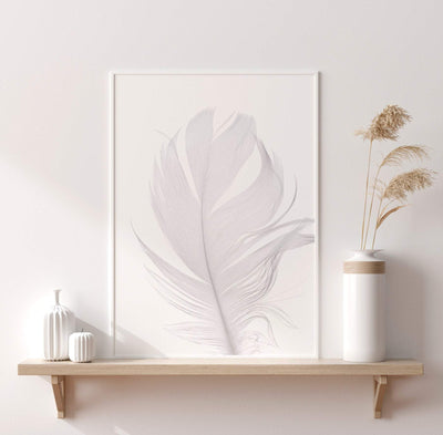Feather Printable - ᐅ Roses On The Moon - Digital Art and Posters