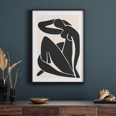Henri Matisse Figure No1 - ᐅ Roses On The Moon - Digital Art and Posters