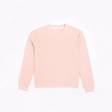 Load image into Gallery viewer, Petit Lem Women's Rose Modal Rib Crewneck