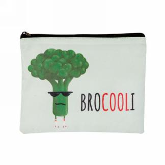 REUSABLE SNACK BAG BROCOOLI