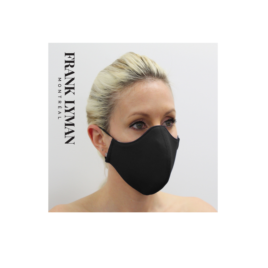 MASK - Frank Lyman - Unisex Adult - Solid Black