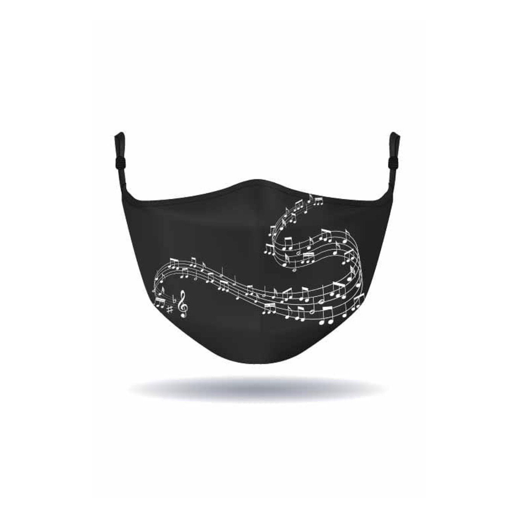 MASK - Alison Sheri - Music Notes - Black