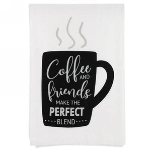 KITCHEN TOWEL - COFFEE AND FRIENDS