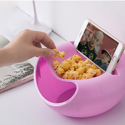 Creative Lazy Snack Round Bowl