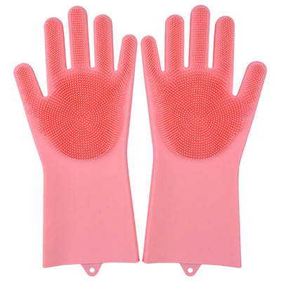 Multi function Silicone Cleaning Gloves