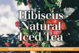 Hibiscus Natural Iced Tea
