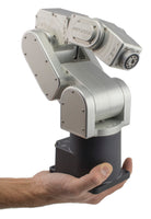 six-axis small robot arms - micrometer repeatability - automate high-precision tasks - operate robot - Mecademic -