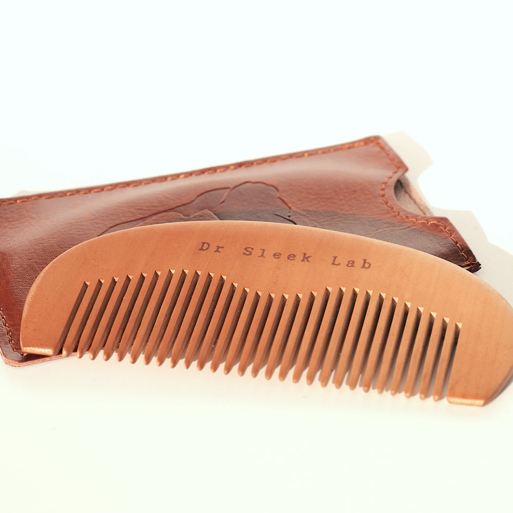 Dr Sleek Lab - Wooden Beard Comb