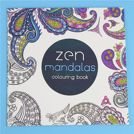 Coloring Mandalas Book Books for 24Pages *18.5cm Drawing Quiet 18.5 Antistress Adults Garden Color Kids Books Antistress Secret