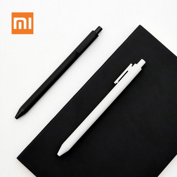 Xiaomi Mijia KACO Gel Pen 0.5mm Black White Color Ink Refills ABS Plastic Pen Write Length 400MM Smoothly Write For Office Study