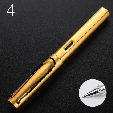 Novelty Roller Ball Pen 0.5mm Luxury Metal Ballpoint Pen For Office School Supplies Stationery Business Writing Gifts