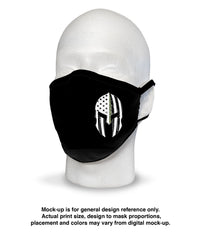 Face Mask - Frontline Defender Warrior