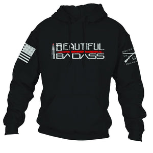 Beautiful Badass - Hoody
