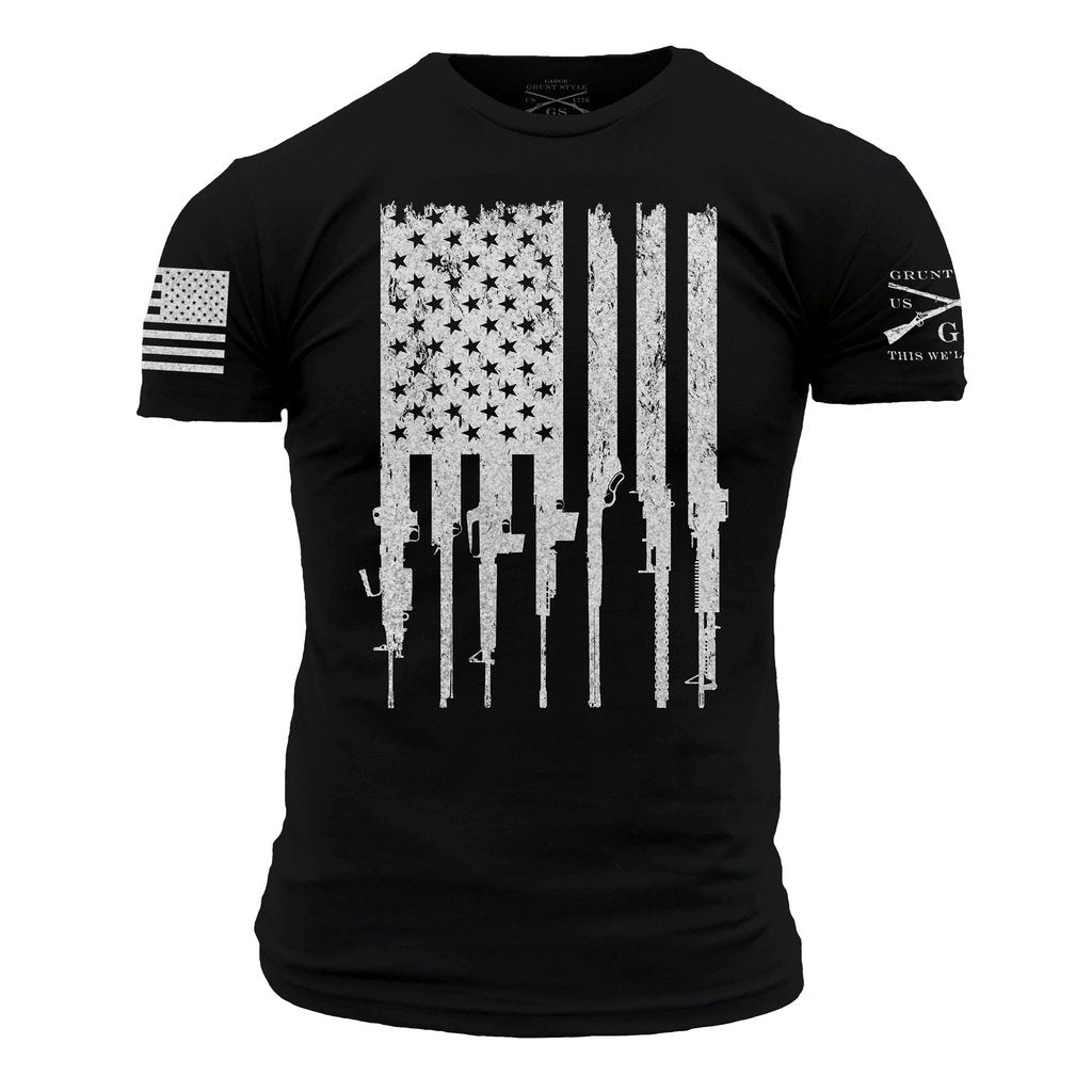 Rifle Flag - Black