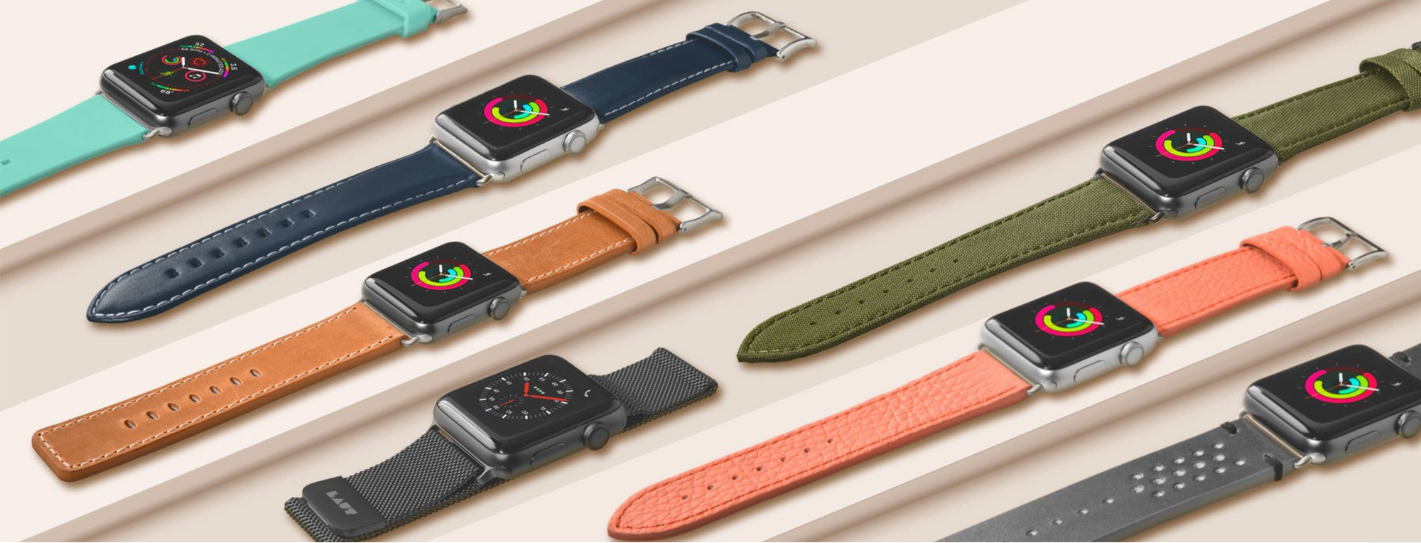 LAUT - German Designed Apple Watch Bands