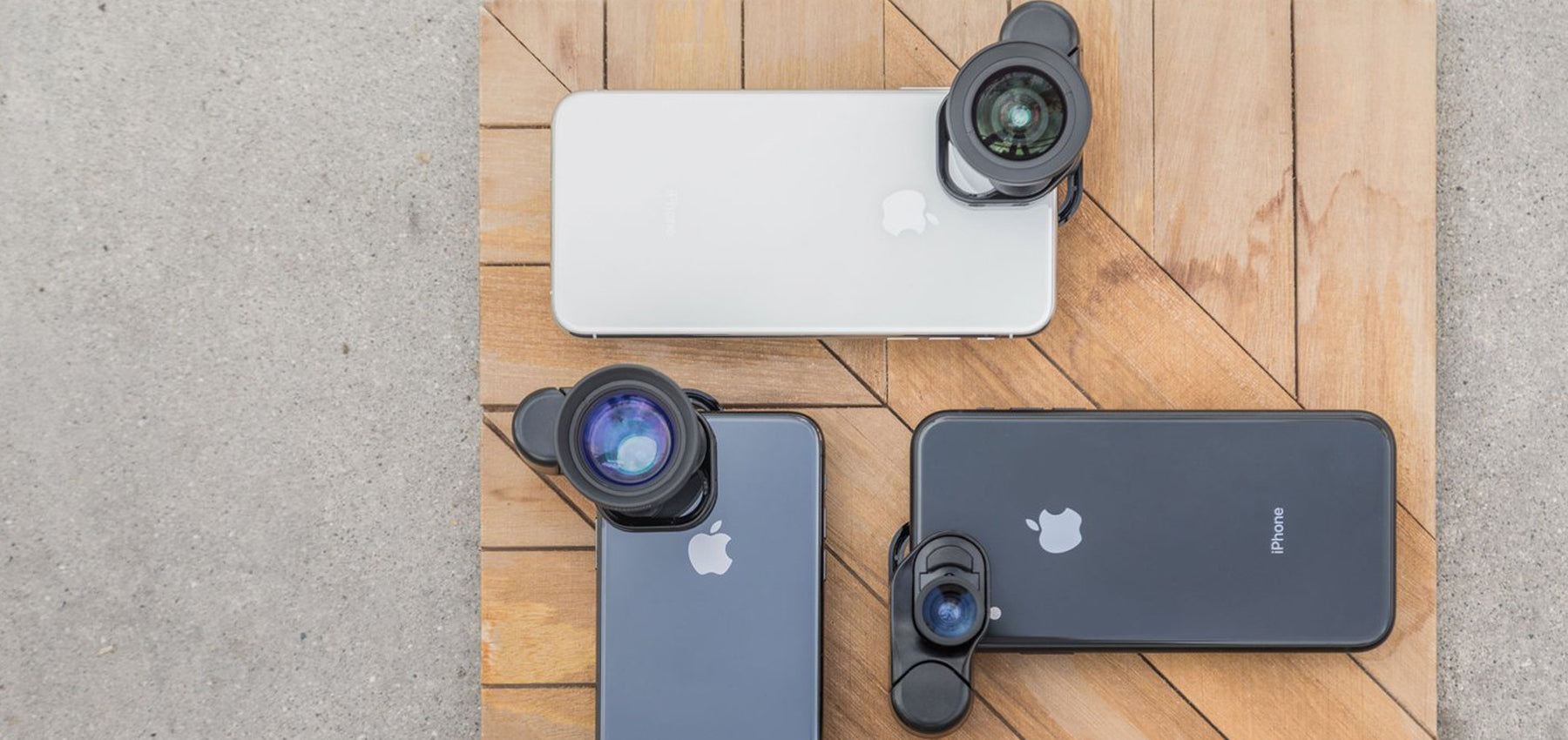 Olloclip - Premium Lens Kits for iPhone & iPad