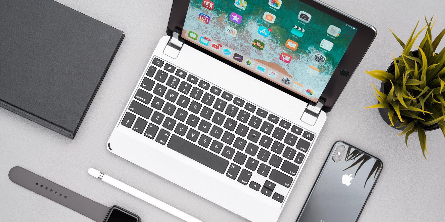 BRYDGE - Elegant Aluminium Keyboards For iPad