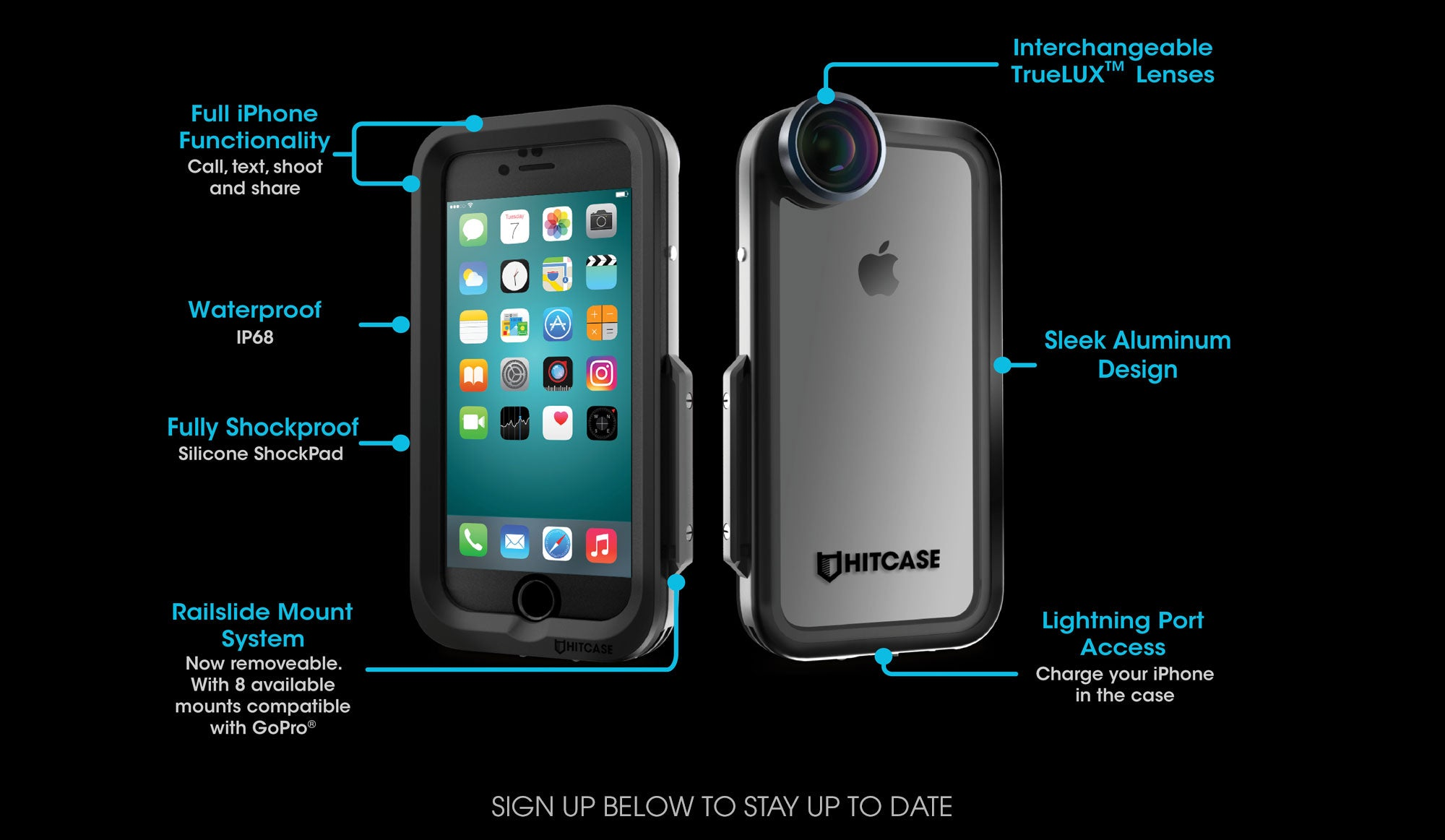 new product a2254 f8557 HITCASE - Ultimate Waterproof iPhone Case, Lens, and Accessories ...