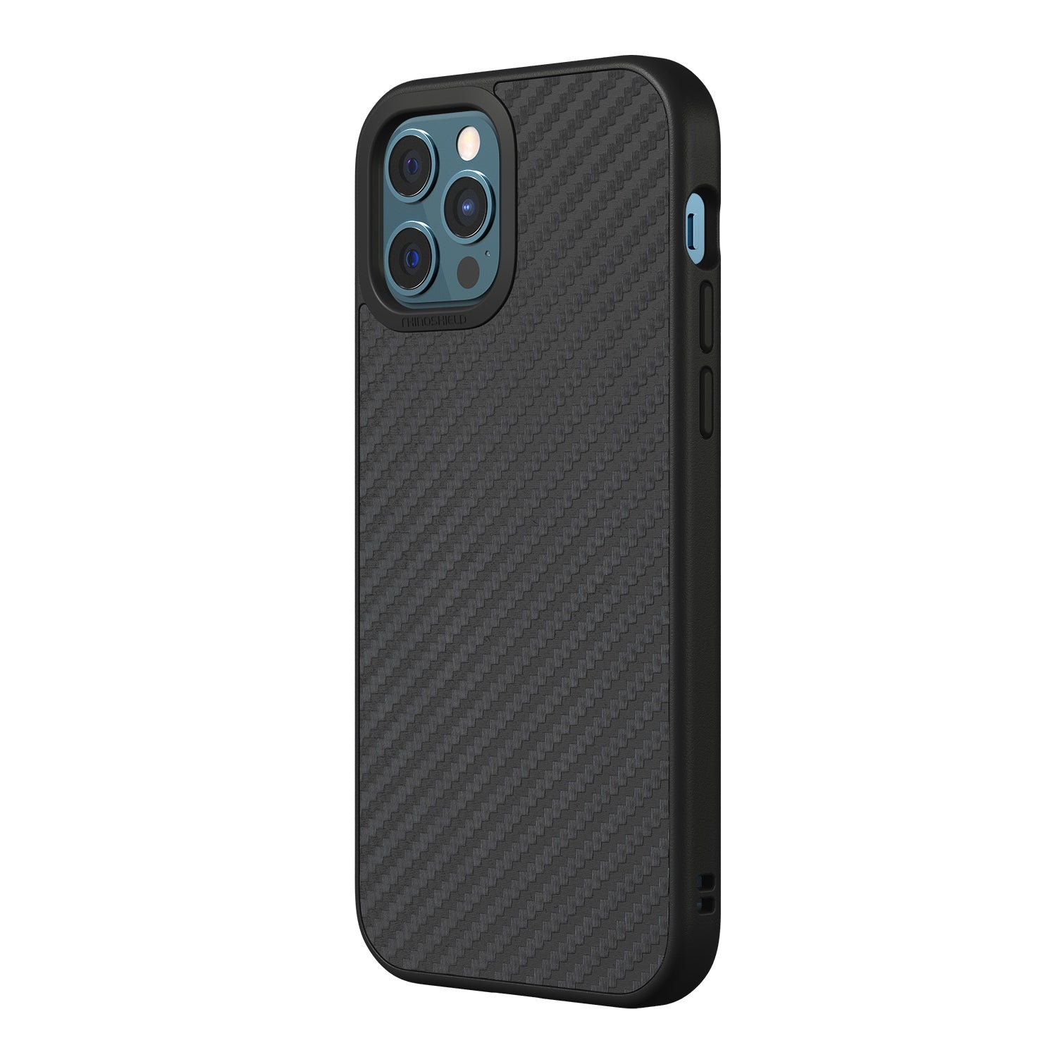 RhinoShield SolidSuit Rugged Case For iPhone 12 / 12 Pro  - Carbon Fiber