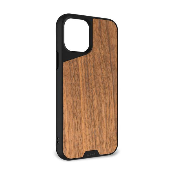 Mous Limitless 3.0 Protective Case For iPhone 12 / 12 Pro - WALNUT