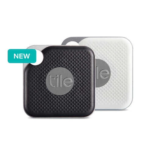 Tile Pro (NEW) Combo w/ Replacable Battery App-Enabled Bluetooth Tracker -  BLACK / WHITE