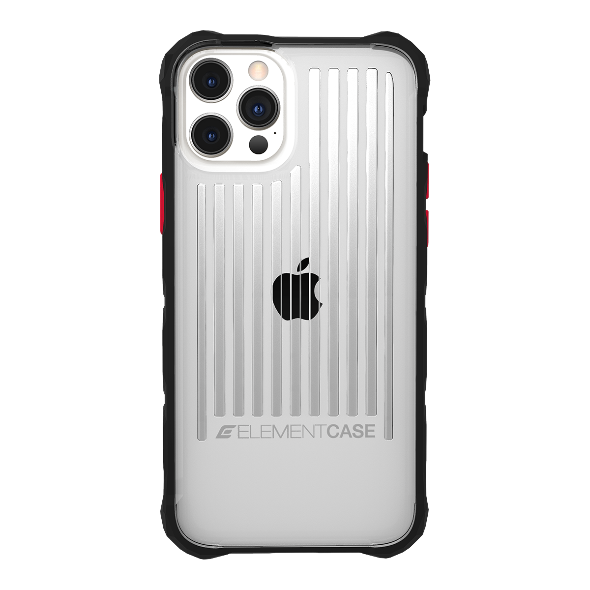 Element Case Special Ops Rugged Case For iPhone 12 Pro Max - Clear/Black