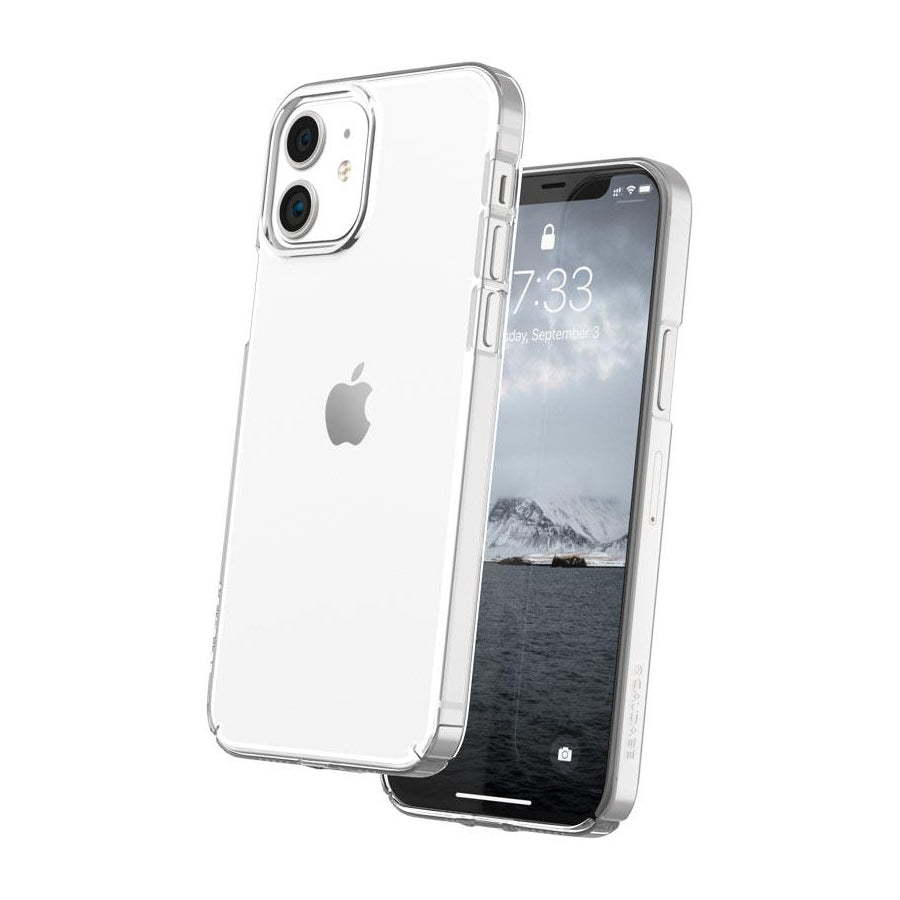 Caudabe Lucid Clear Minimalist Case For iPhone iPhone 12 mini - CRYSTAL