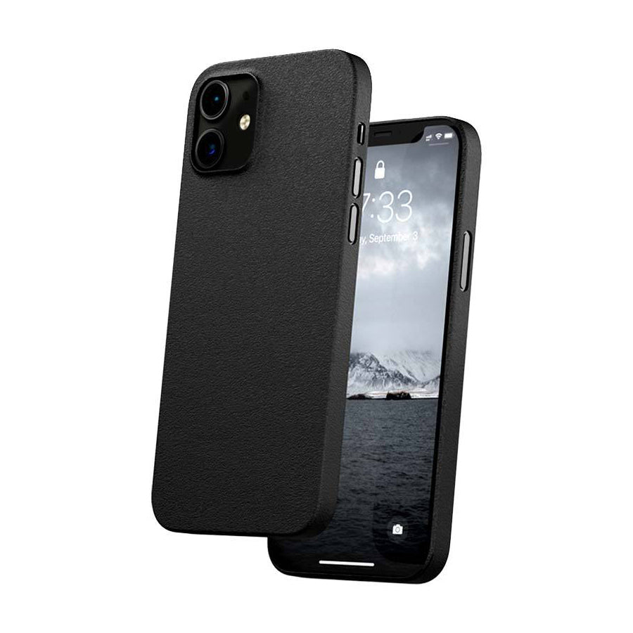 Caudabe The Veil Ultra Thin Case For iPhone iPhone 12 mini - STEALTH BLACK