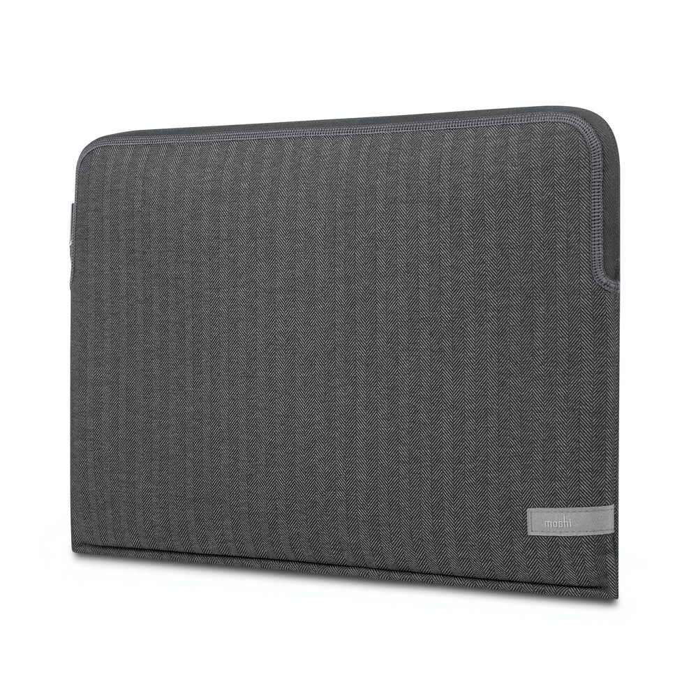 "Moshi Pluma Laptop Sleeve For 15""/16"" MacBook Pro - Herringbone Gray"